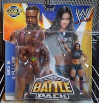 Big E AJ Lee Battle Pack Philadelphia, 19125
