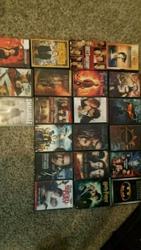 assorted-title DVD case lot Fort Worth, 76116
