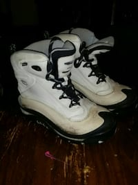 pair of white-and-black high-top shoes Winnipeg, R3G 1T6