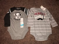 Baby Boy Onesies Size 6 Months Covina, 91724
