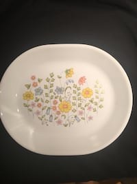 Vintage Corelle 12-inch Oval Serving Platter—Meadow—EXCELLENT Condition Vienna, 22180