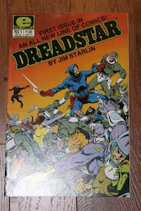 Dreadstar #1 Epic Comics MOVIE? Jim Starlin Mississauga, L5N 7V4
