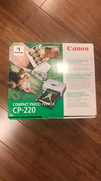 Canon compact photo printer CP-220 Montreal, H1S 2N3