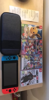 Nintendo Switch with case and games Coventry, CV6 3LS