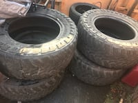 37x13.5r20 mud tires 30% tread