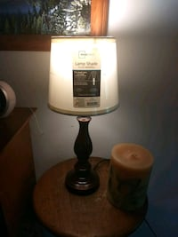 white and black table lamp Claremont, 28610