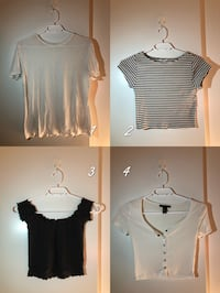 MIX&MATCH!! 4 essential tops for $15!! Toronto, M4Y 1W5