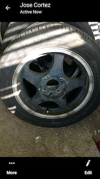 4 tires with rim, 305/50/R15 good  conditions, $250 obo.  Des Moines, 50316
