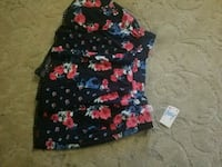 black, red, and white floral girls skirt new Springfield, 97477