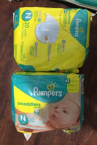 Baby pampers 2 new born and size 1 Des Moines, 50316