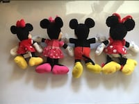 Mickey & Minnie Disney Plush Lot Northglenn