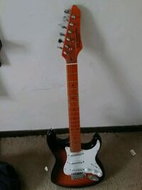 red and white stratocaster guitar Columbus, 43231