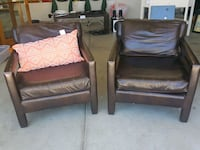 Brown arm chairs Palmdale, 93551