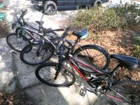 black and red full suspension mountain bike Panama City, 32405
