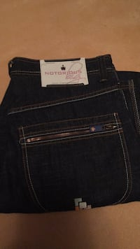 Black levi's denim bottoms 3120 km