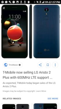 Unlocked 5g capable lg phone with service  Des Moines, 98198