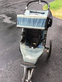 black and gray jogging stroller Ashburn, 20147