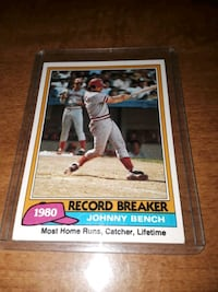 1981 JOHNNY BENCH, GEM MINT 10 !
