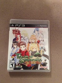 Sony ps3 tales of symphonia chronicles game case