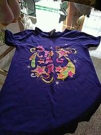 purple and yellow floral crew neck shirt Beverly Hills, 34465