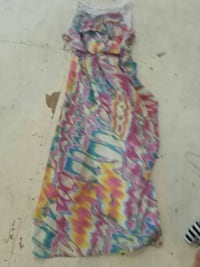 white, pink, yellow, and blue tank maxi dress Lake Charles, 70611