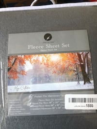 Grey Queen Fleece Sheet Set Pittsburgh, 15241