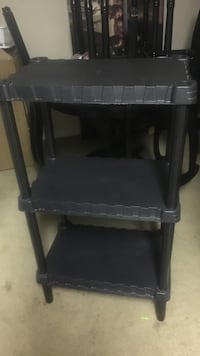 black wooden 2-layer side table Altamonte Springs, 32714
