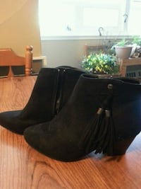 Black boots with tassels London, N5Y 2A2