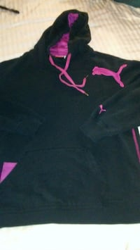 black and pink Under Armour pullover hoodie Yukon, 73099