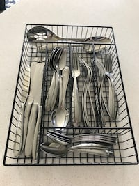 Silverware Utensil Set for 8 (with tray!) Sterling, 20166
