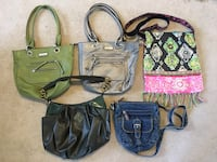 5 Purses, $10 for all Ankeny