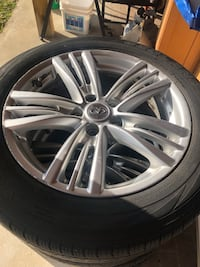 Chrome infinity G37X rims (sedan) Rockville, 20853
