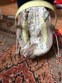 Baby's gray and green car seat carrier Germantown, 20876