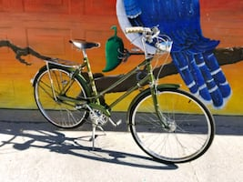Antique Raleigh superbe bicycle