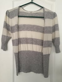 gray and white cardigan Newmarket, L3X 1V1
