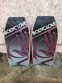 Excellent condition used once. Two Bodyglove boogie boards Chino Hills, 91709