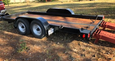 Heavy Duty Car Hauler or Equipment Trailer