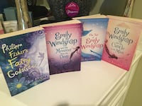 4 Girl Books by Emily Windsnap Centreville, 20120