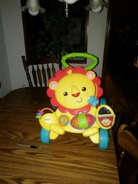yellow and red Fisher-Price musical lion walker Mapleton, 17052