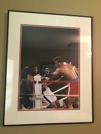 Muhammad Ali Rumble in the Jungle Framed Art Des Moines