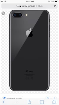 Space gray iPhone 8 Plus  Knoxville, 37919