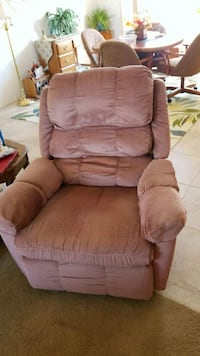 brown fabric recliner sofa chair Port Charlotte, 33981
