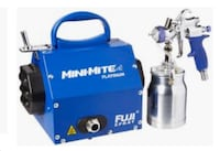 Brand New Fuji 2904-T70 mini-mite 4 platinum HLVP SPRAY SYSTEM. Bethesda, 20817