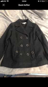 New York and company gray pea coat size medium  Henderson, 89015