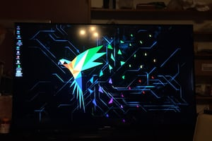 55' Smart TV LED LCD barely used