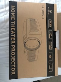 LED mini projector and 14' inflatable screen - Still in boxes Henderson, 89052