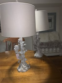 Gorgeous pair of owl rustic set of two lamps Miami, 33162
