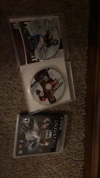three assorted PS3 game cases San Diego, 92105