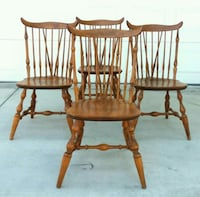 Antique Windsor Chairs-set 4 Bakersfield, 93311