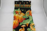 LINENS and CLOTHING: pumpkin towels, doilies, Red and green napkins Phoenix, 85042